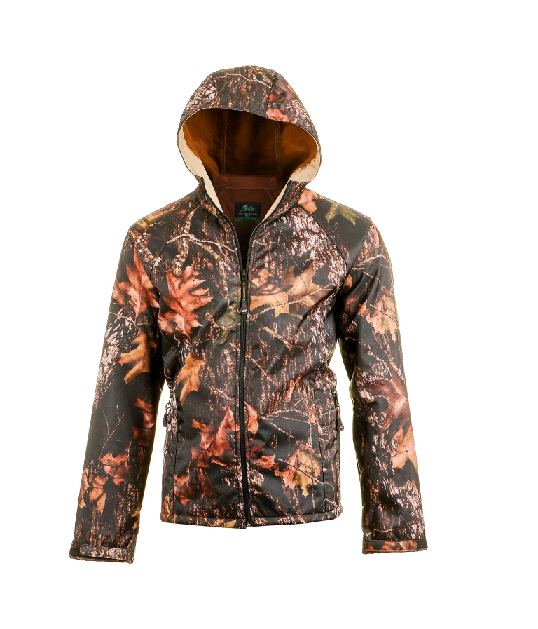 Oxford Polar Laminated Jacket Dark Forest Design