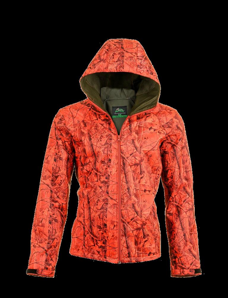 Oxford Polar Laminated Jacket Pig Design