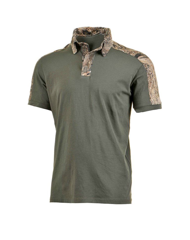 Max5 Arms Green Shirts Neck