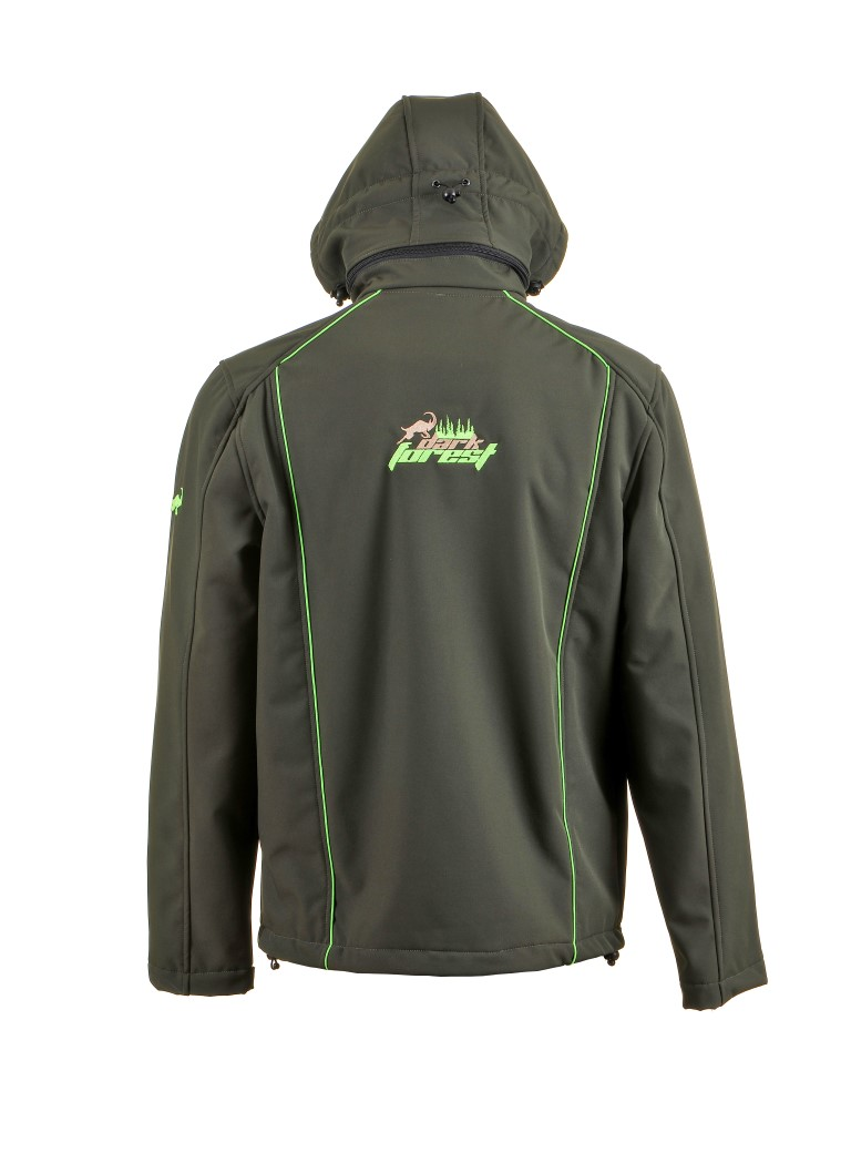 Softshell Jacket Man 2001 Dark Green