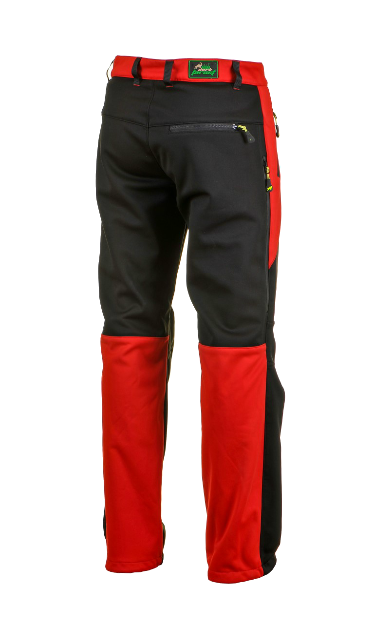 1015 Model Softshell Pants Black Red