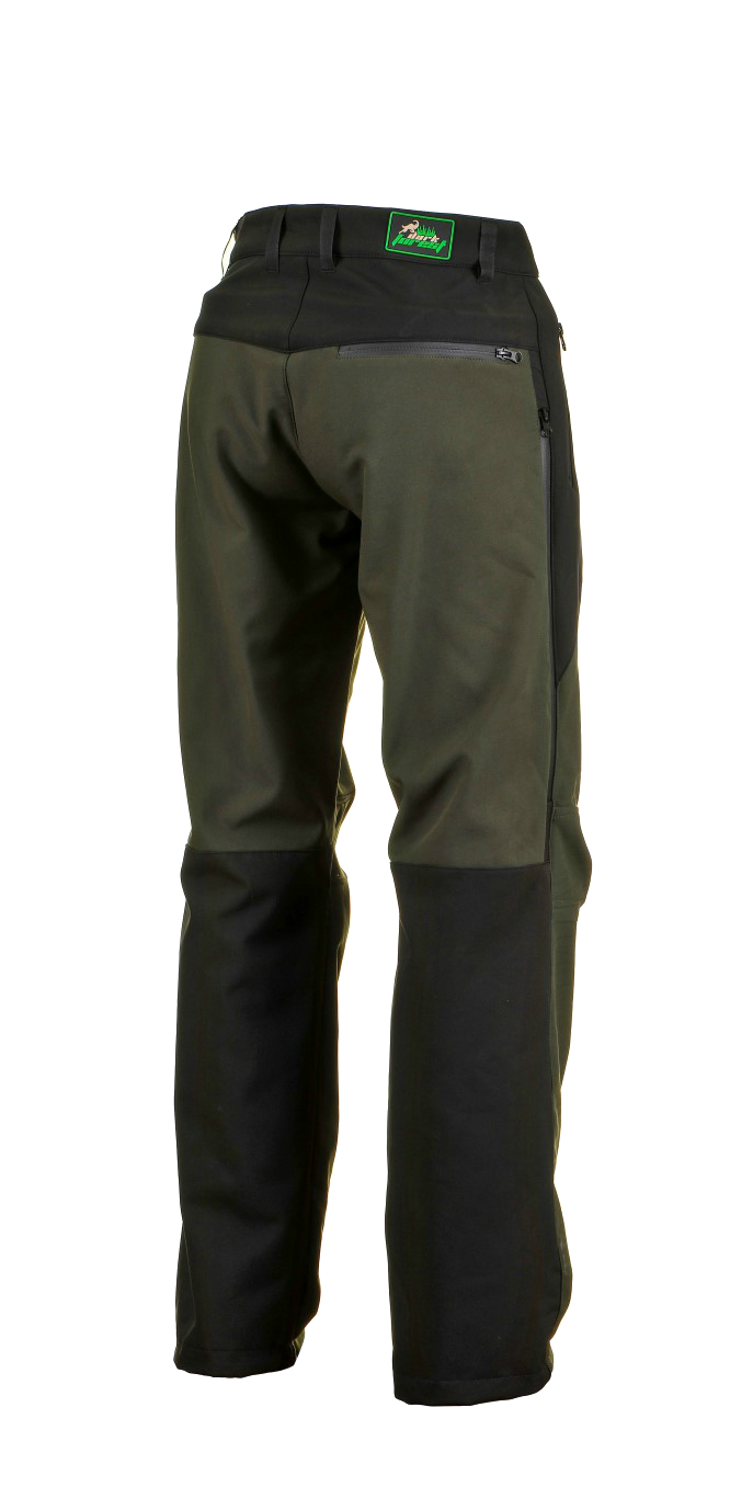 1015 Model Softshell Pants Black Dark Green