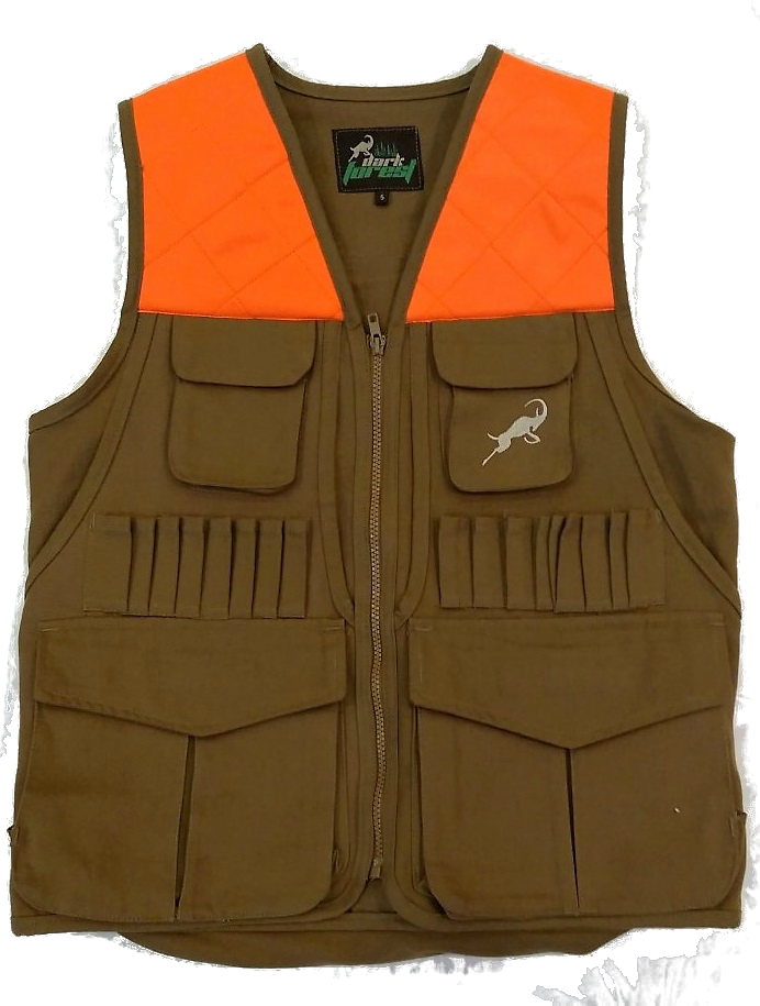 Hunting Vest Orange Shoulder