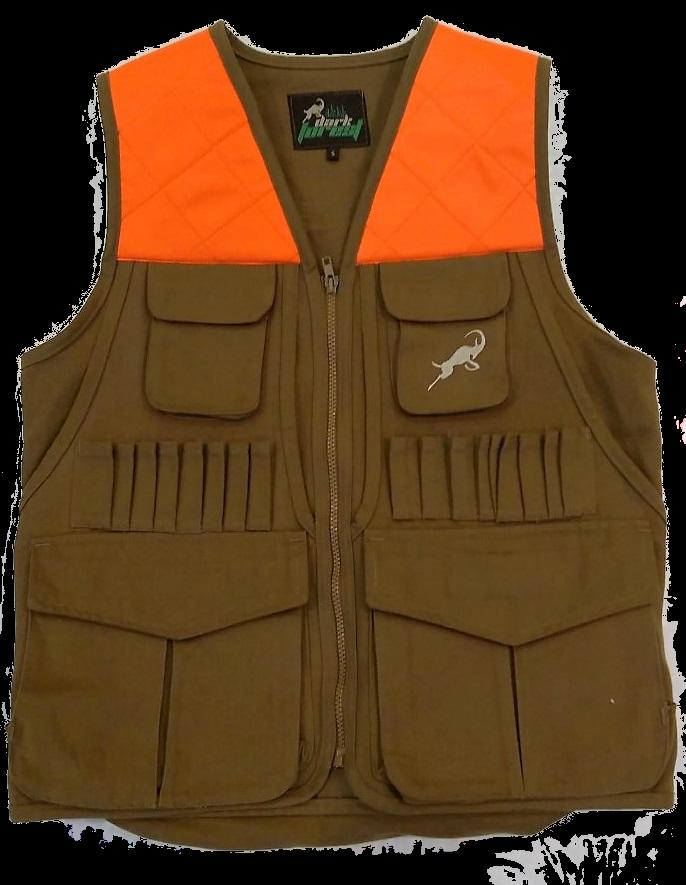 Hunting Vest Orange Shoulder