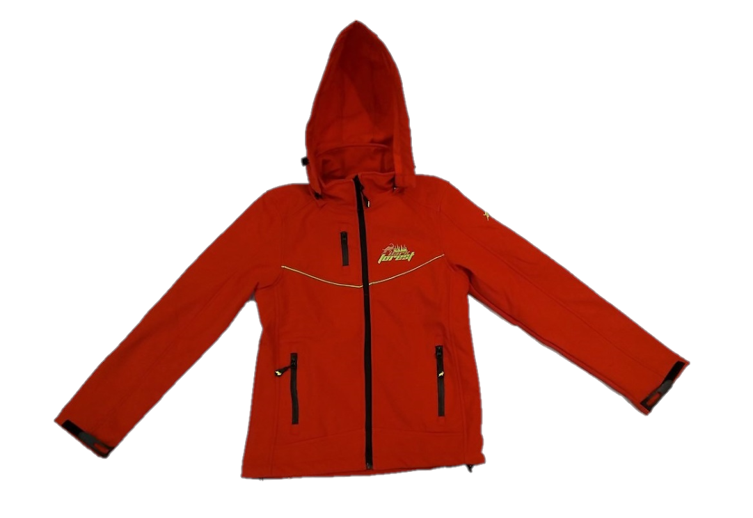 Woman Softshell 2001 Model Red