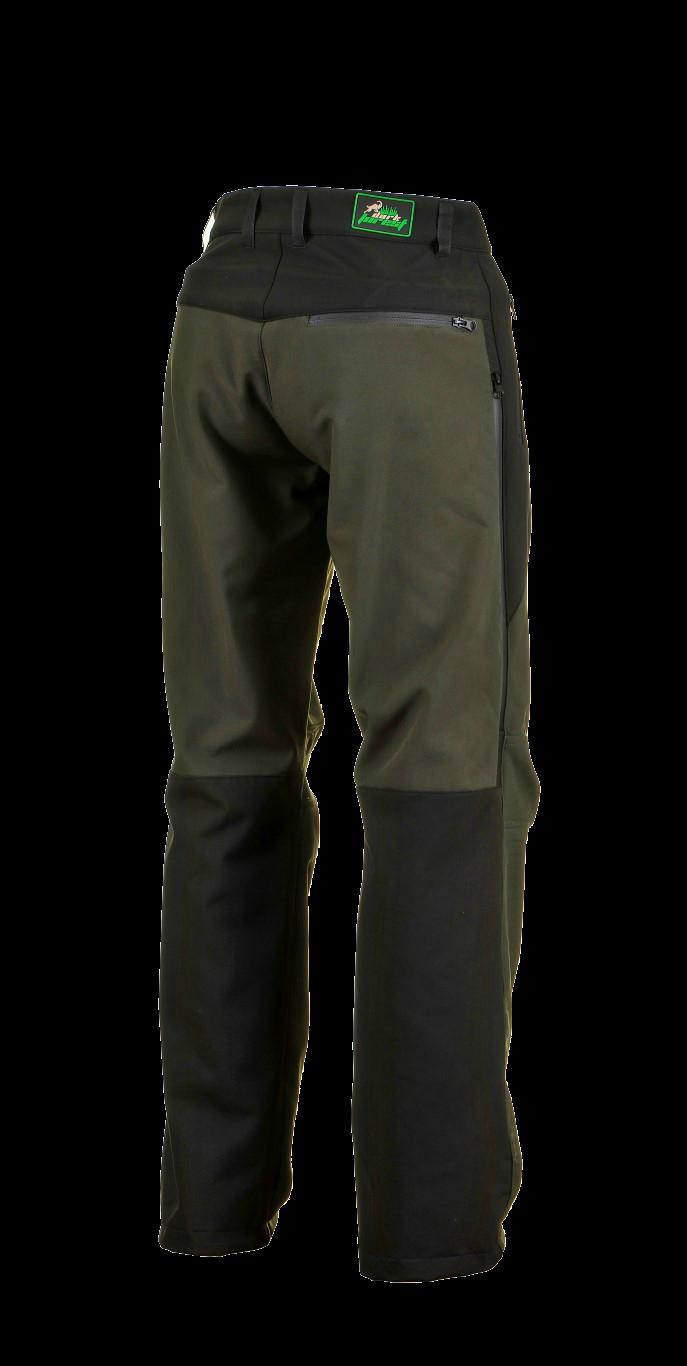 1015 Model Softshell Pants Black Dark Green